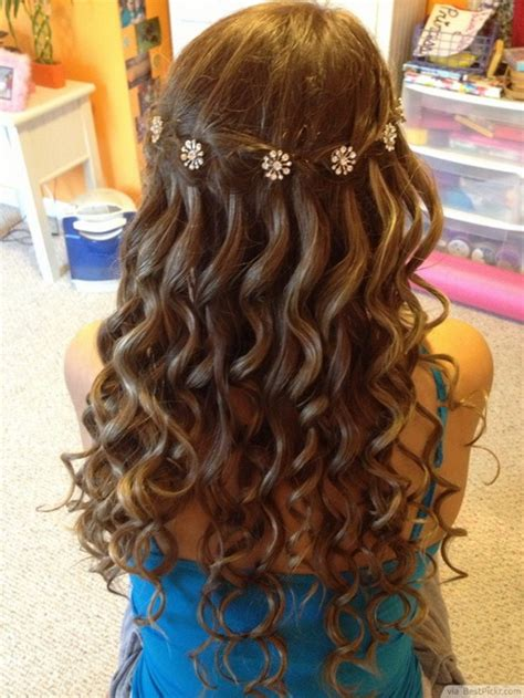 homecoming hairstyles waterfall braid braid prom hairstyles 2015