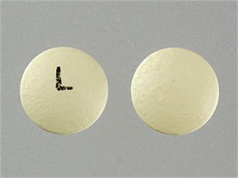 L On by L Yellow And Pill Identification Wizard Drugs
