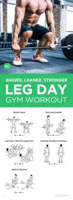 25 best ideas about leg workouts for on