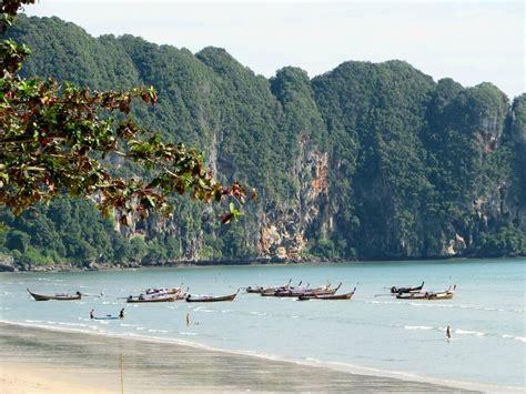 beach locations  krabi province thailand