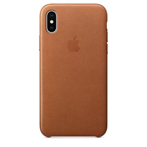 Apple Original Iphone X Leather Folio Casing Black Bnib iphone x leather saddle brown apple
