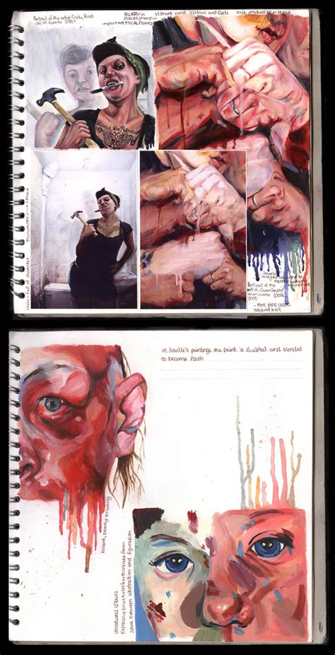 where do layout artist work tips for producing an amazing gcse or a level art sketchbook