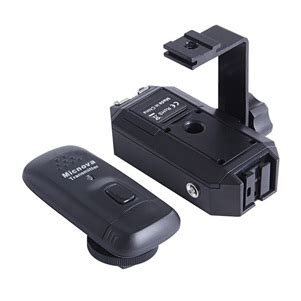 Micnova Wireless Flash Trigger Receiver Mq Ft 4c R Hitam micnova wireless flash trigger and transmitter mq ft 4c