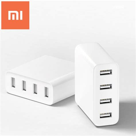 Charger Xiaomi 4 Port Usb 2a Ere Fast Charging original xiaomi mi 4 ports usb charger 2a fast charge with protection in superdeal