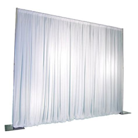 white pipe and drape 1 panel pipe and drape kit backdrop 8 feet tall non