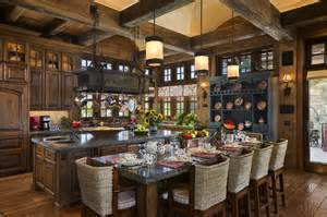 Elegant Foyer Tables Open Country Rustic Kitchen By Jerry Locati