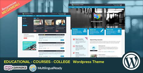 themeforest preview image size edu educational courses college wp theme by