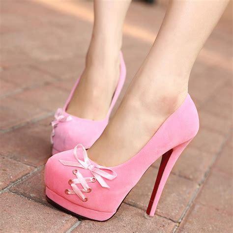 Heels Beautiful Ribbon Black Rk290 2014 shoelace wedding bridal shoes bow toe