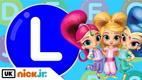 shimmer and shine l words beginning with l featuring shimmer and shine