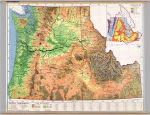 northwest united states map