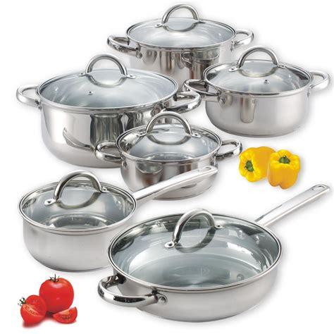 Kitchen Cookware Sets by Cook N Home Stainless Steel Cookware Review
