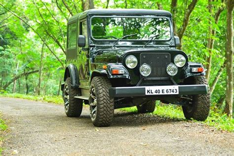 jeep modified in kerala mahindra thar