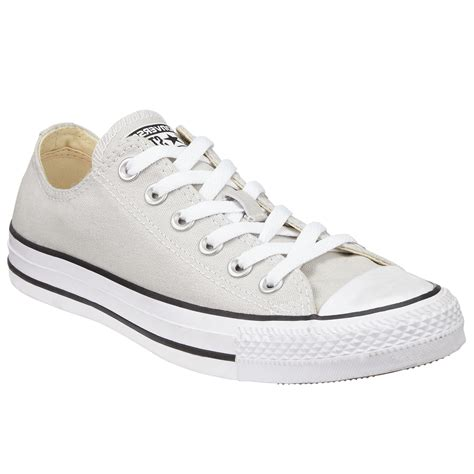Sepatu Converse Chuck 2 Low Grey converse chuck all canvas ox low top trainers in gray lyst