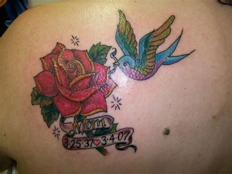 memorial flower tattoo designs 60 tattoos with