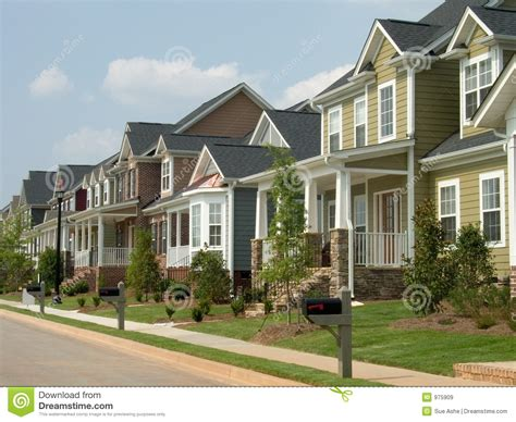 house free american row house stock image image of abode accommodations 975909