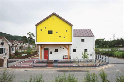 modern home design korea modern t shaped house in south korea idesignarch