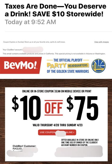 Bevmo Coupons Printable