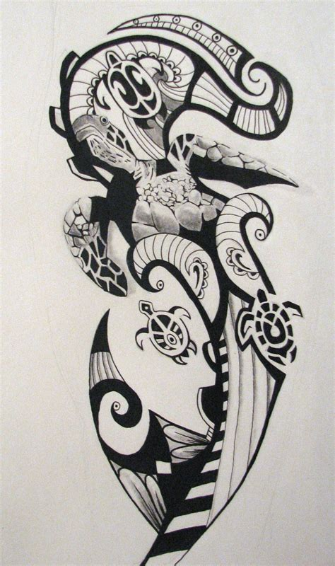 tribal turtle tattoo designs maori tribal tattoos