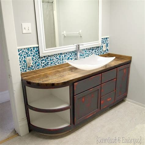 butcher block bathroom countertop how to build a butcher block counter sawdust and embryos
