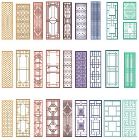 house grill pattern chinese window patterns chinoiserie pinterest window
