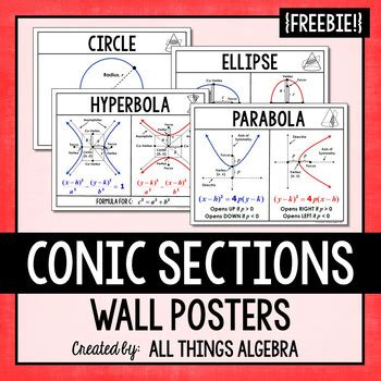 algebra 2 conic sections test conic sections circle ellipse hyperbola parabola