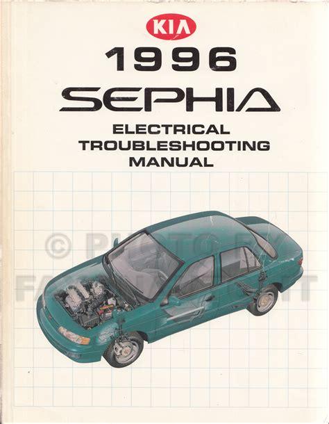 free service manuals online 1996 kia sephia electronic throttle control 1996 kia sephia electrical troubleshooting manual wiring diagrams original ebay