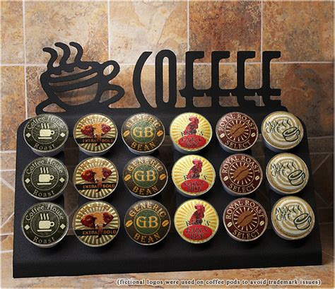 keurig k cup above drawer stand 18 k cup holder by fsmdllc