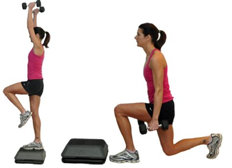 Step Bench Workouts best exercises for reducing or slimming hips and waist stylish walks