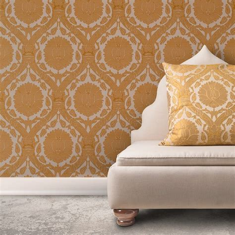 wandverkleidung mit stoff wall coverings are back gribble interior