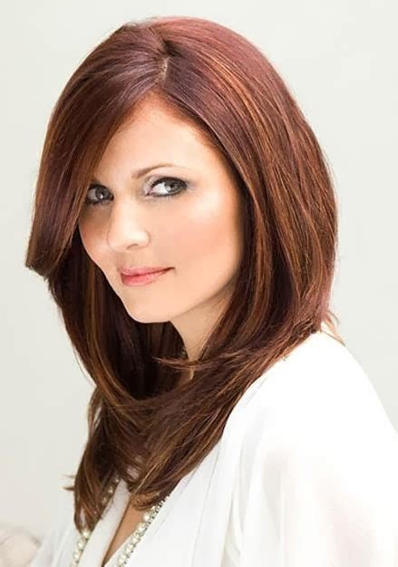 medium hairstyles with bangs round face medium hairstyles for round faces notonlybeauty