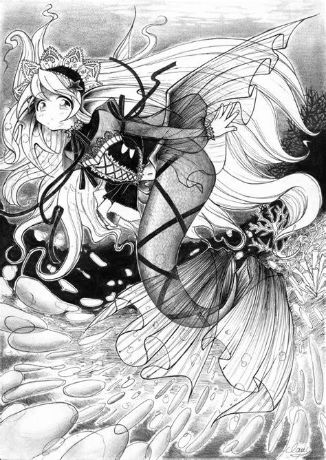 imagenes sirenas goticas sirena gotica by chidori17 on deviantart