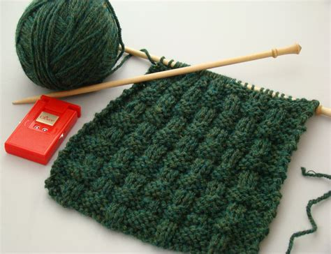 how to knit beautiful basket weave knitting stitch for beginners