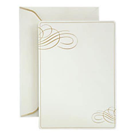 gartner studios place cards gold foil dots pack of 50 by gartner studios formal invitations and envelopes gold