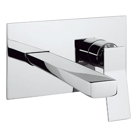 Mixer Trio crosswater trio wall mounted 2 set basin mixer