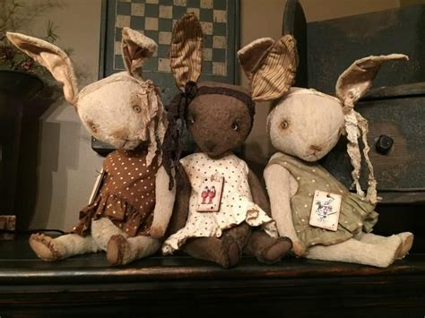 Primitive Handmades Mercantile - 1000 images about dolls and stuffed animals on