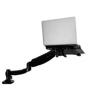 Desk Laptop Mount Loctek Store Loctek Desk Notebook Mount For Most Laptops D5l