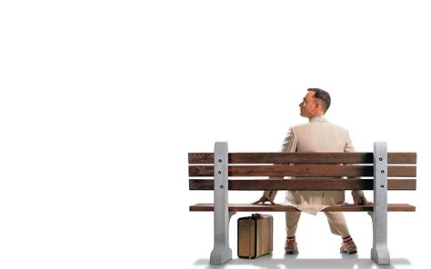 forrest gump bench interview about life with forrest gump fictional interviews