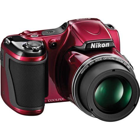 nikon coolpix l820 digital 26403 b h photo