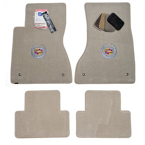 2007 Cadillac Cts Floor Mats by Cadillac Cts Sedan Light Titanium Floor Mats 2003 2007