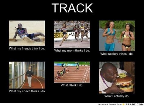 Track And Field Memes - track meme coaching pinterest
