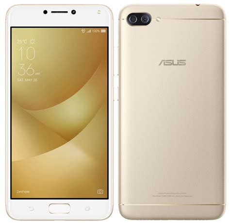 Golden Maxy 4 by Asus Zenfone 4 Max With Dual Rear Cameras 5000mah Battery