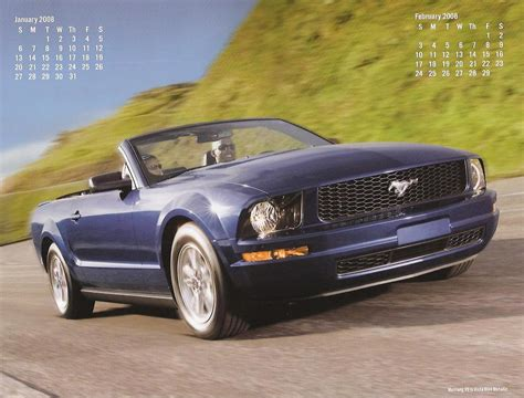 2008 ford mustang brochure