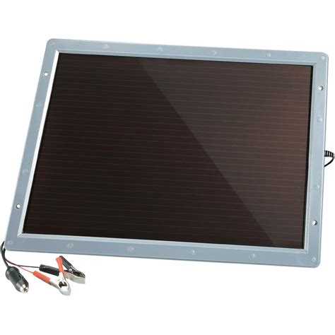 solar car charger solar car battery charger 6w from conrad electronic uk