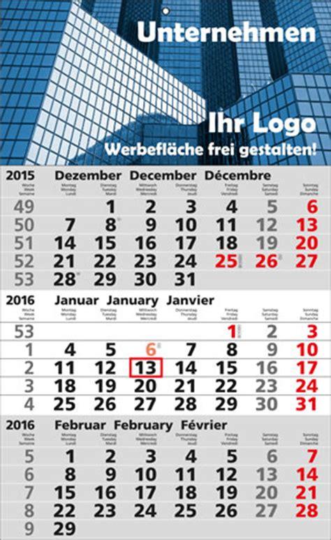 Kalender Online Drucken Monat by Internationaler 3 Monatskalender Online Drucken