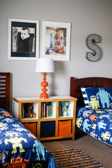 How To Decorate A Boys Room by Home Tour