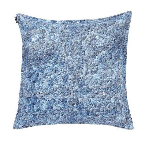 Throw Pillow Blue by Marimekko Harmaja Blue White Throw Pillow Marimekko