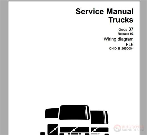volvo truck fl6 november 2003 service manual auto