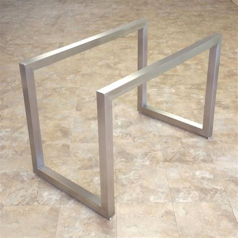 metal table l bases poseidon table bases custom metal home