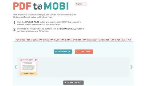 best pdf to mobi converter how to convert pdf to mobi file wondershare pdfelement
