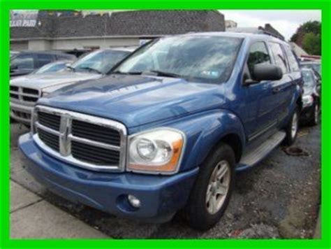 how do cars engines work 2004 dodge durango free book repair manuals find used 2004 dodge durango limited used hemi v8 needs work no reserve in norwood pennsylvania